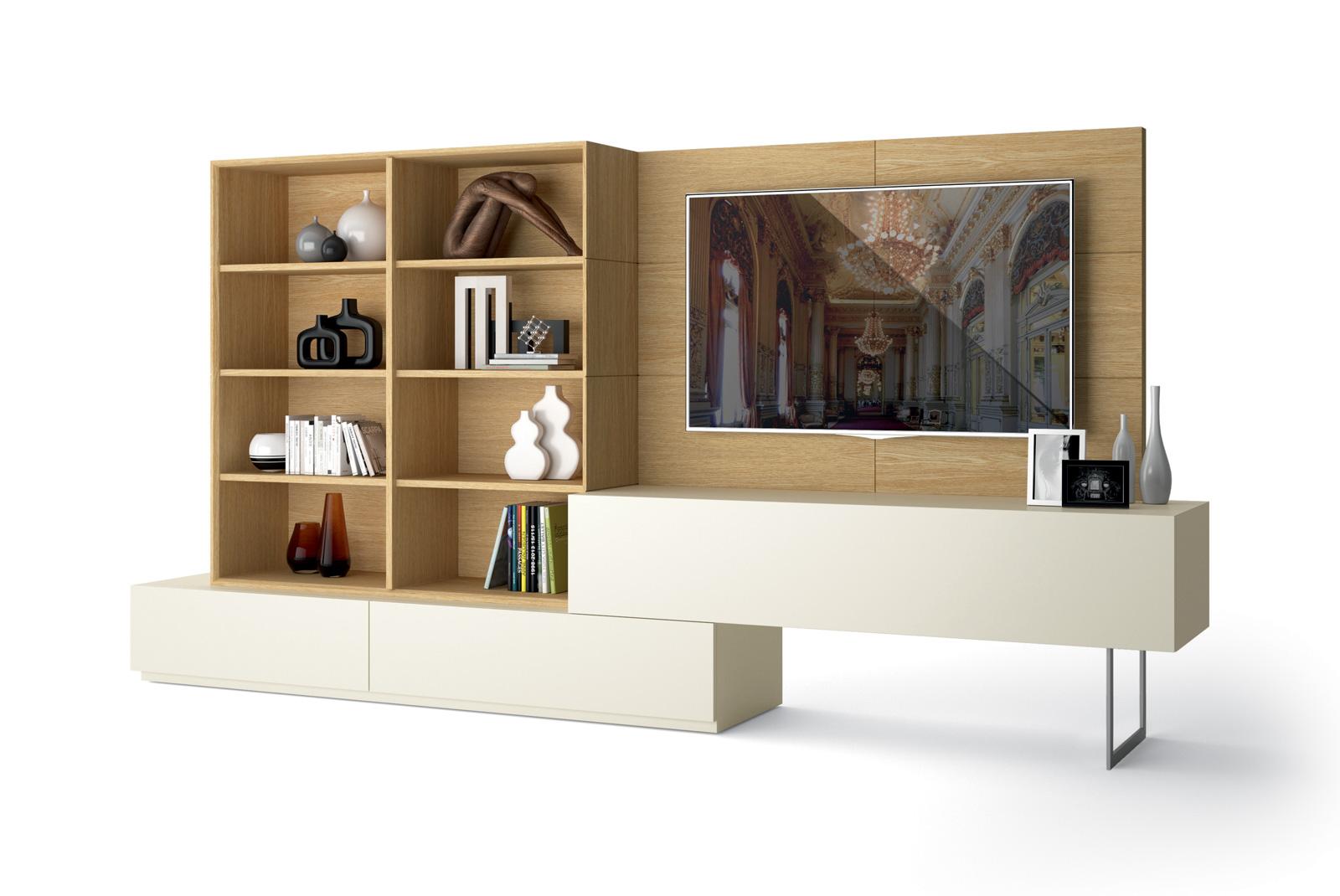 meuble de salon eden roc composition murale homesalons. Black Bedroom Furniture Sets. Home Design Ideas