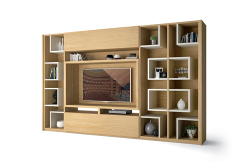 meuble de salon carlton composition murale homesalons. Black Bedroom Furniture Sets. Home Design Ideas