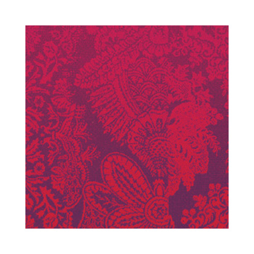 Tapis décoration design contemporain imprimé cachemire rouge violet rose