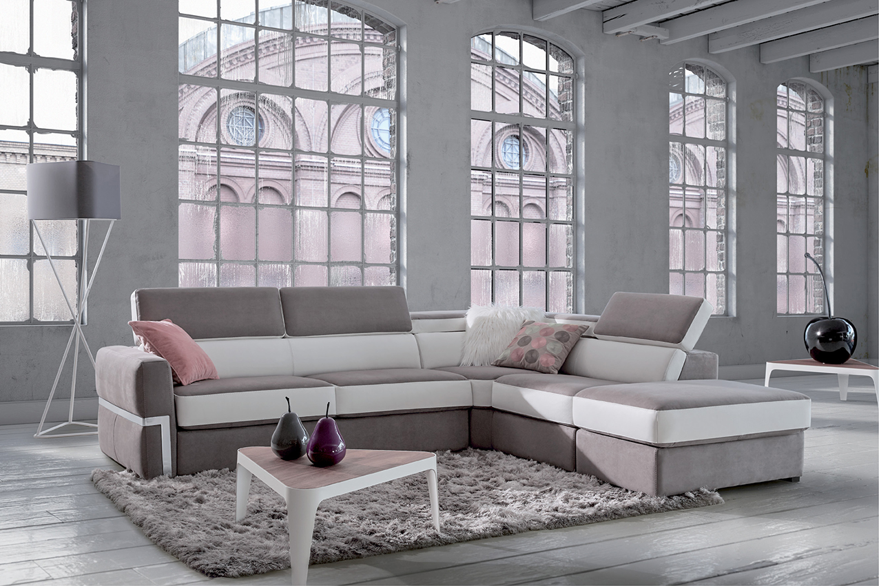 canap convertible en cuir beach homesalons. Black Bedroom Furniture Sets. Home Design Ideas