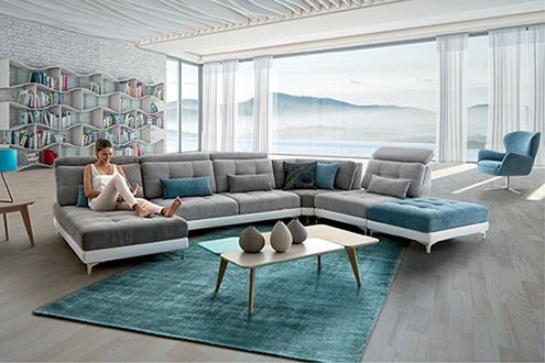 canap tissu homesalons. Black Bedroom Furniture Sets. Home Design Ideas